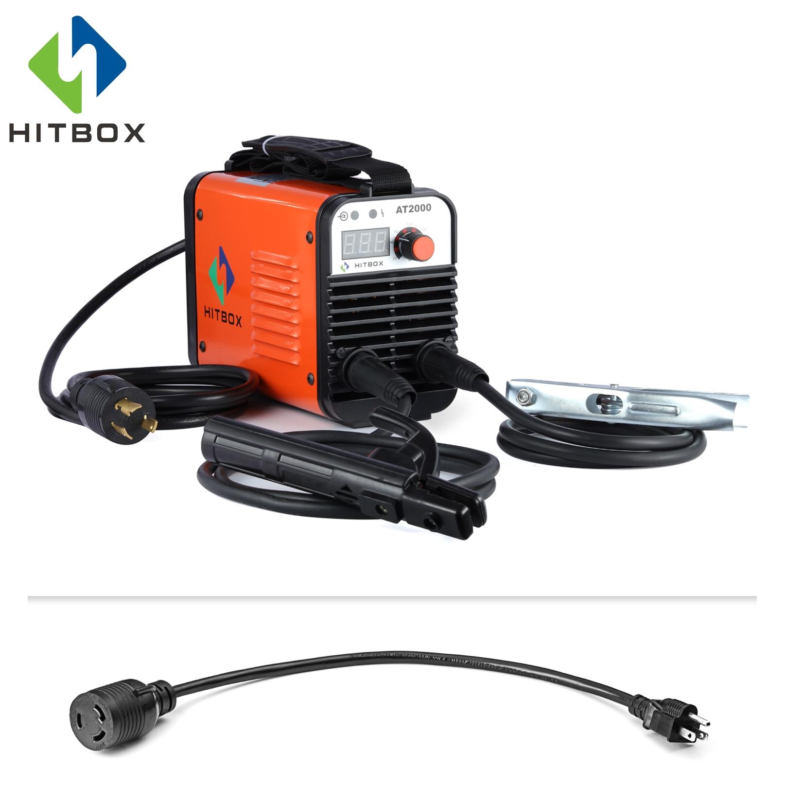 HITBOX Arc Welder 110V 220V AT2000 Inverter Arc Welder Dual Voltage IGBT Technology New Arrival MMA