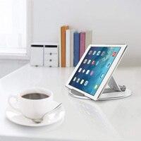 durable aluminum alloy Universal Desktop Tablet Holder Mount Phone Holder Aluminum Alloy Round Stand Durable For IPad Pro Adjustable #1122 (3)