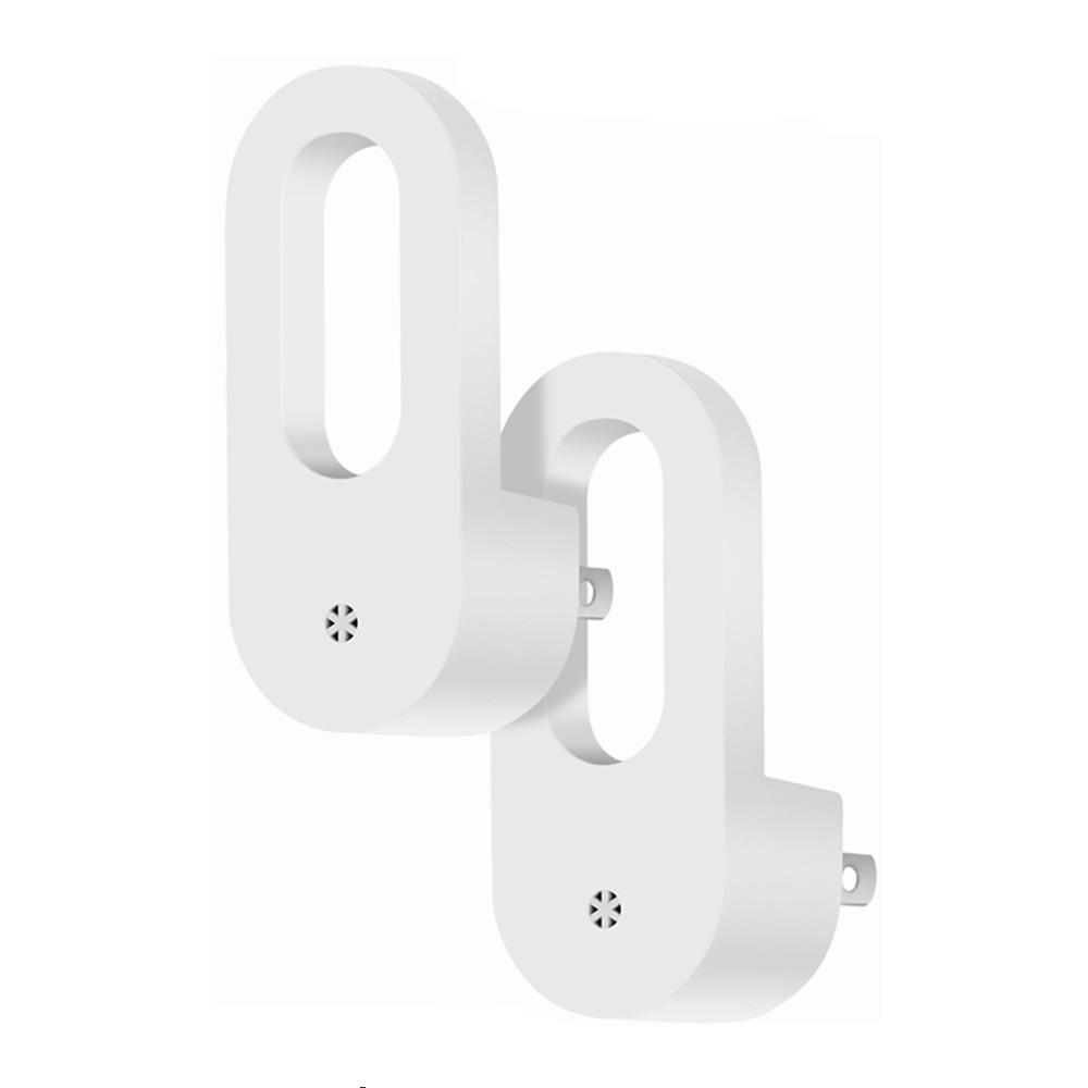 2pcs Led Night Light 0.7w Light Sensor Control Plug-in Wall Lamp Eu/us Plug Socket Lamp Room Home Lighting Lights & Lighting Led Lamps
