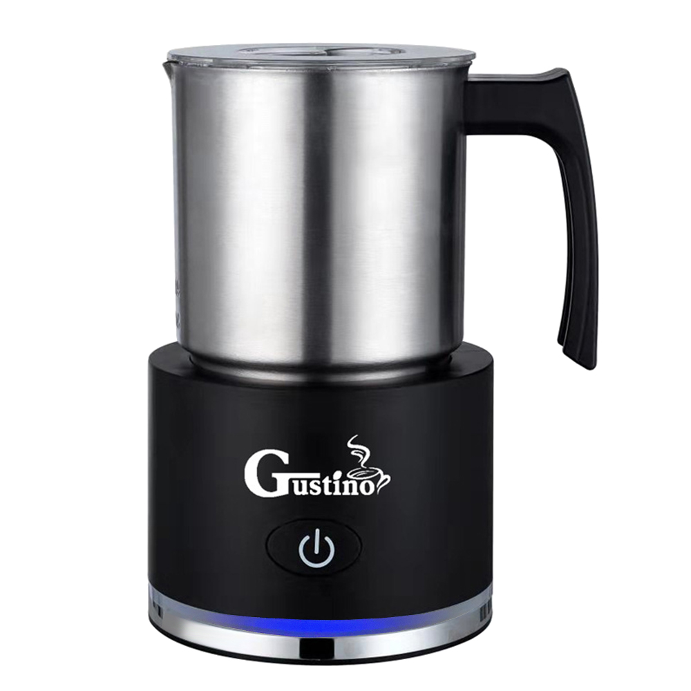 Gustino GS - 508 Milk Foamer Electric Steamer Frother 250ml Milk Frothers For Home Office Coffee Shops 2000 PA Suction