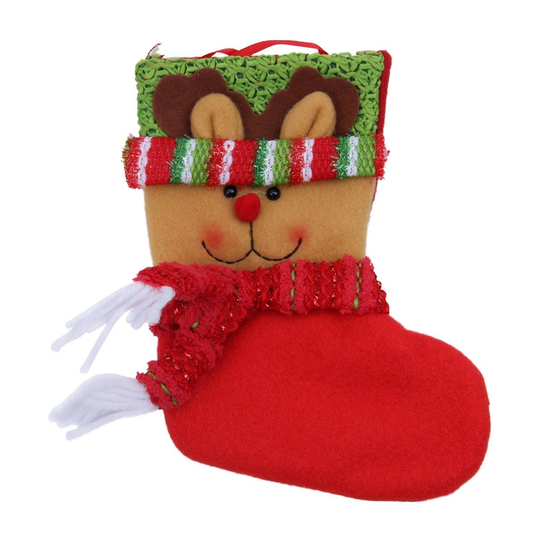 Rational Ppyy Neue-weihnachten Süßigkeiten Tasche Weihnachten Santa Schneemann Socken Süßigkeiten Geschenk Taschen Party Produkte Süßigkeiten Tasche 1 St Jeder Abschnitt Kalender