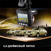 Professional Multi functional New 2 In 1 2.4 Inch LCD HD Display 1080P 170 Degree Car DVR Radar Laser Speedometer Camera