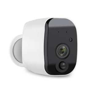 Image 2 - JIENUO Batterie WiFi Kamera 1080 p Volle HD Wiederaufladbare Powered Outdoor Indoor Sicherheit IP Cam 110 Weiten Blickwinkel wireless 2 weg