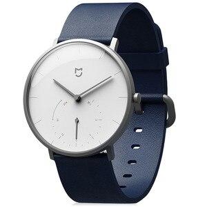 Image 2 - الأصلي شاومي Mijia الكوارتز ساعة ذكية BT IP67 مقاوم للماء الميكانيكية SmartWatch عداد الخطى تذكير ذكي ل أندرويد IOS