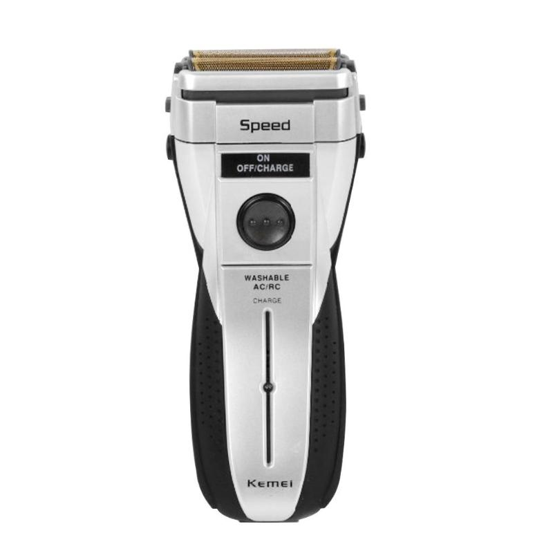 Rechargeable Razor Beard Shaver Gray Man Rechargeable Razor Electric Cordless 2w 230v Beard Shaver Face Care Hair Trimmer
