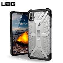 Защитный чехол UAG для iPhone XS Max серия Plasma цвет серый/111103114343/32/4
