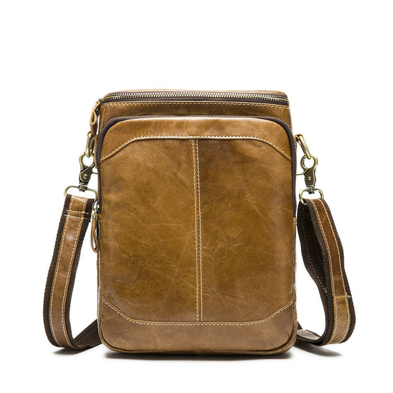 New Famous Brand Business Bag Man Leather Messenger Man Ipad Set Bag Men s Bags handbag