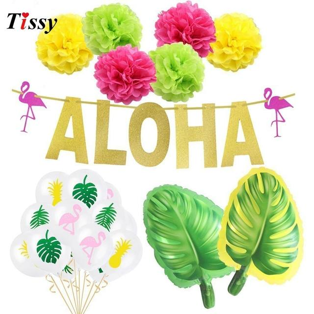 Flamingo  Hawaiian Summer Party Decorations