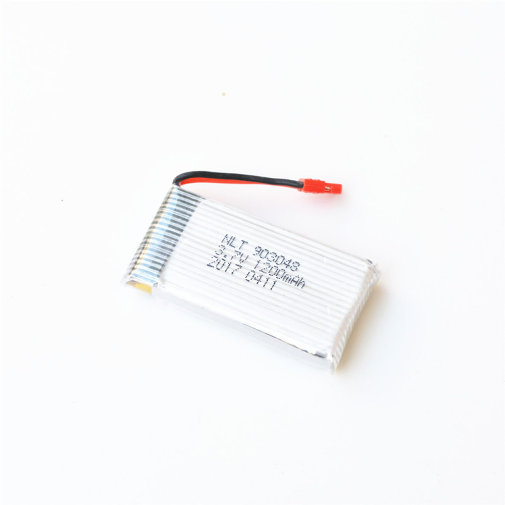 NEW Upgrade 3.7V 1200mAh Lipo Battery Charger For Syma X5HW X5HC Drone Quadcopter Pro Accessories Replacement Drop Shipping