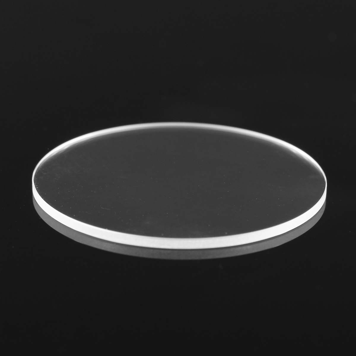 1.2mm Thick Flat Sapphire Watch Glass Anti scratch Smooth Round Transparent Crystal Glass For Watch Repair Size 28/29/30/31mm Pakistan