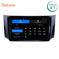 Seicane Android 8.1/7.1 10.1 2Din GPS Car Radio Head Unit For 2012 2016 NISSAN SYLPHY Multimedia Player Support 3G Wifi OBDII