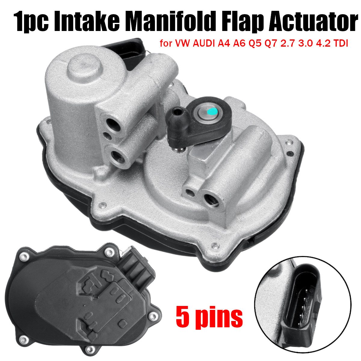 Intake Manifold Flap Actuator A2C53247916 A2C53289031 for VW for AUDI A4 A6 Q5 Q7 2.7 3.0 4.2 TDIIntake Manifold Flap Actuator A2C53247916 A2C53289031 for VW for AUDI A4 A6 Q5 Q7 2.7 3.0 4.2 TDI