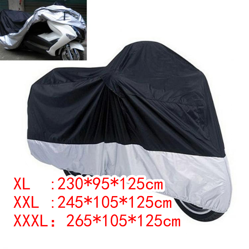 Waterproof Anti Dust Rain Vented Cover Protector for Motorcycle/Bike/Scooter