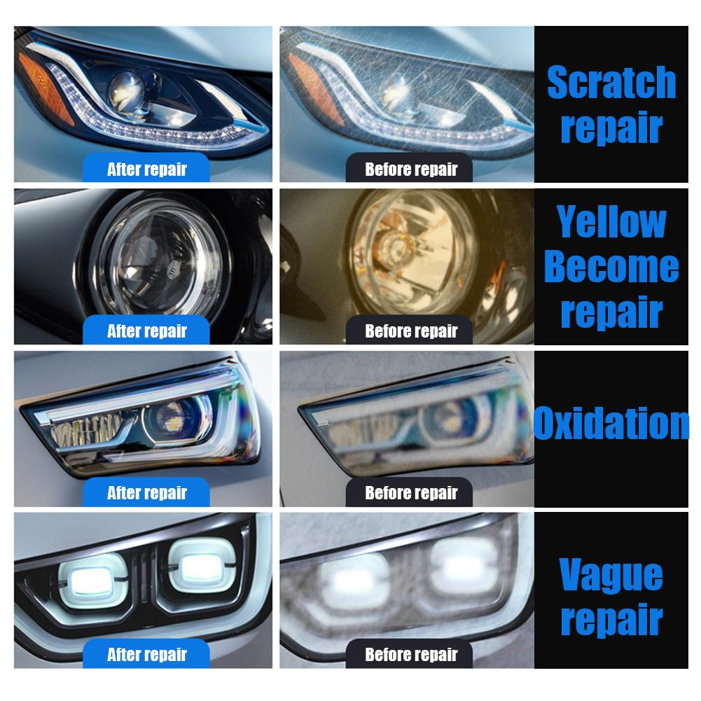 Image 5 - Car Headlights Oxidation Liquid Repair Agent Ceramic Coat Super Hydrophobic Glass Coating Polishing Coating Liquid Repair Tool-in Paint Protective Foil from Automobiles & Motorcycles