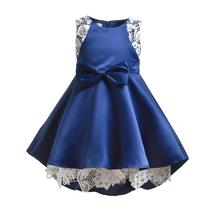 VTOM Kids Girls Dress Wedding Party Children Summer Dress Baby Kids Dresses Tutu Lace Girls Formal Dresses Baby Clothes  XN14 недорого