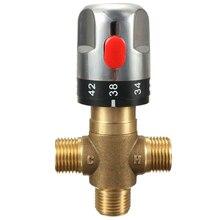 Труба термостата кран Термостатический смесительный клапан ванная комната воды контроль температуры картриджи крана, солнечный водонагреватель Therm