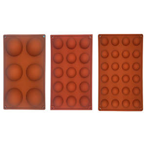 wu fang Shape Silicone Baking Accessories Chocolate Mold