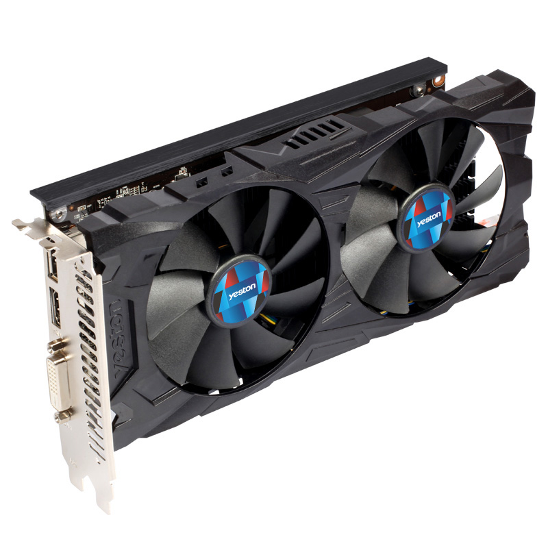 Yeston Radeon Rx560D 4Gb Gddr5 Pci Express 3.0 Directx12 Video Gaming Graphics Card External Graphics Card 128bit For Desktop