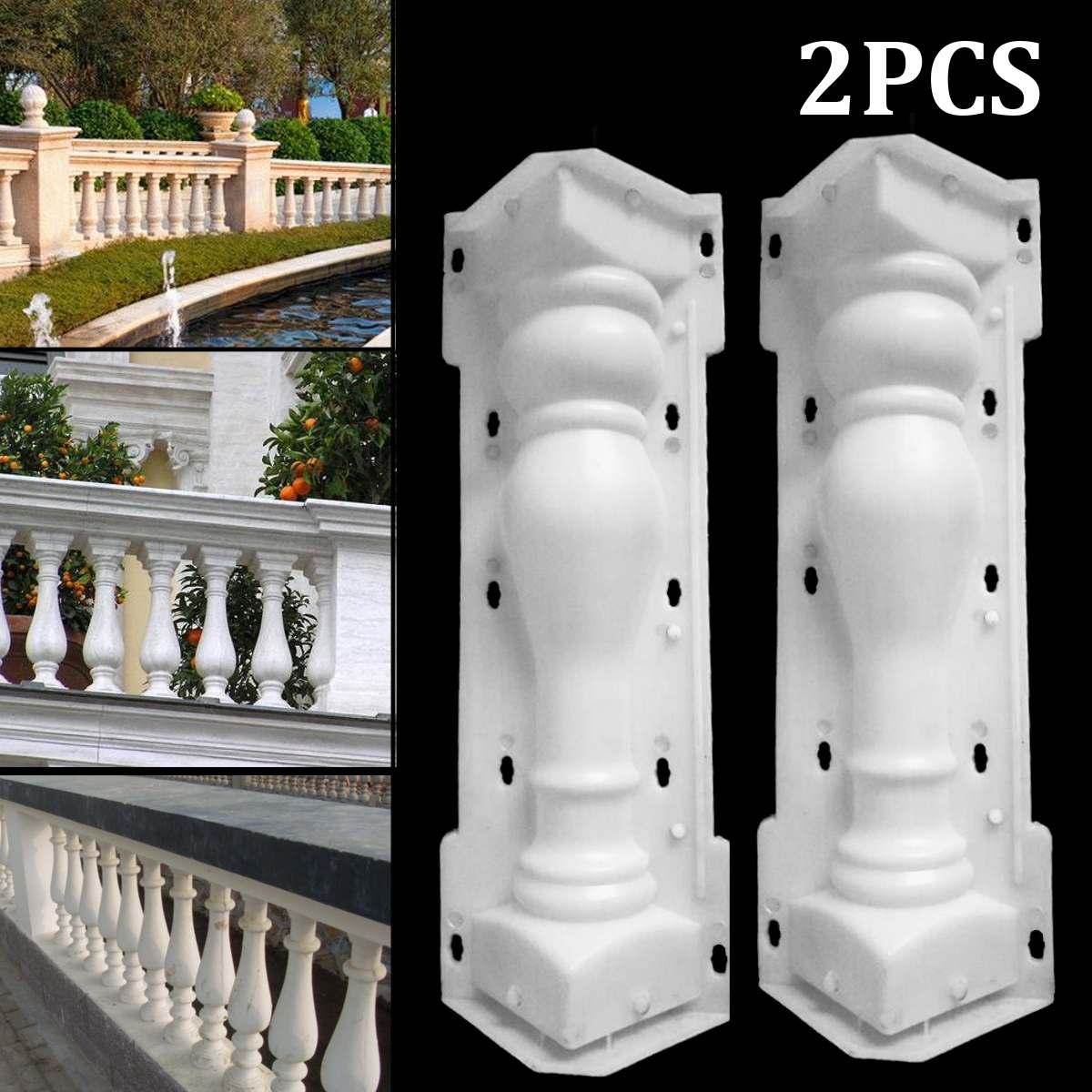 60X14cm Roman Column Mould Fence Balcony Garden Pool Cement Railing Plaster Concrete Mold Column Guardrail Building Paving Molds