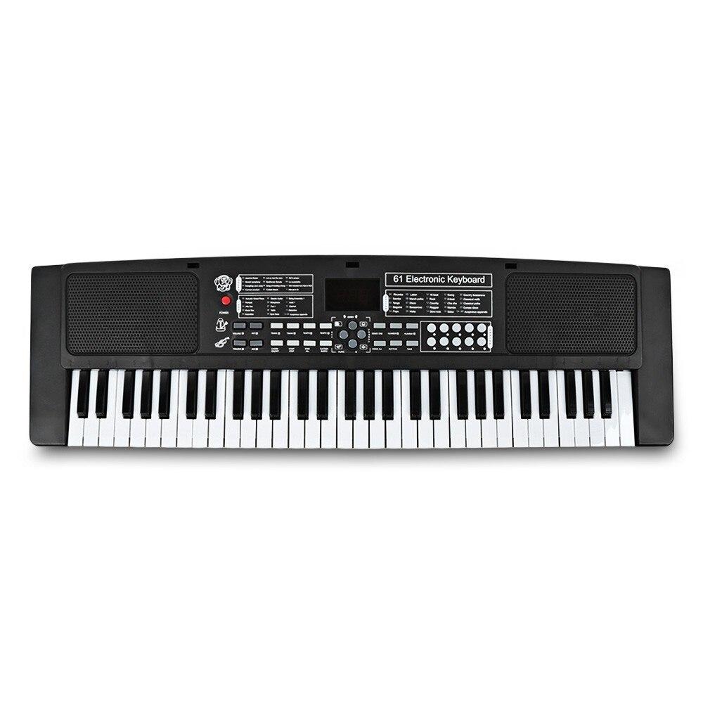 61 touches clavier électronique Piano avec Microphone externe enfants jouets éducatifs orgue Instrument de musique enfants jouet - 2