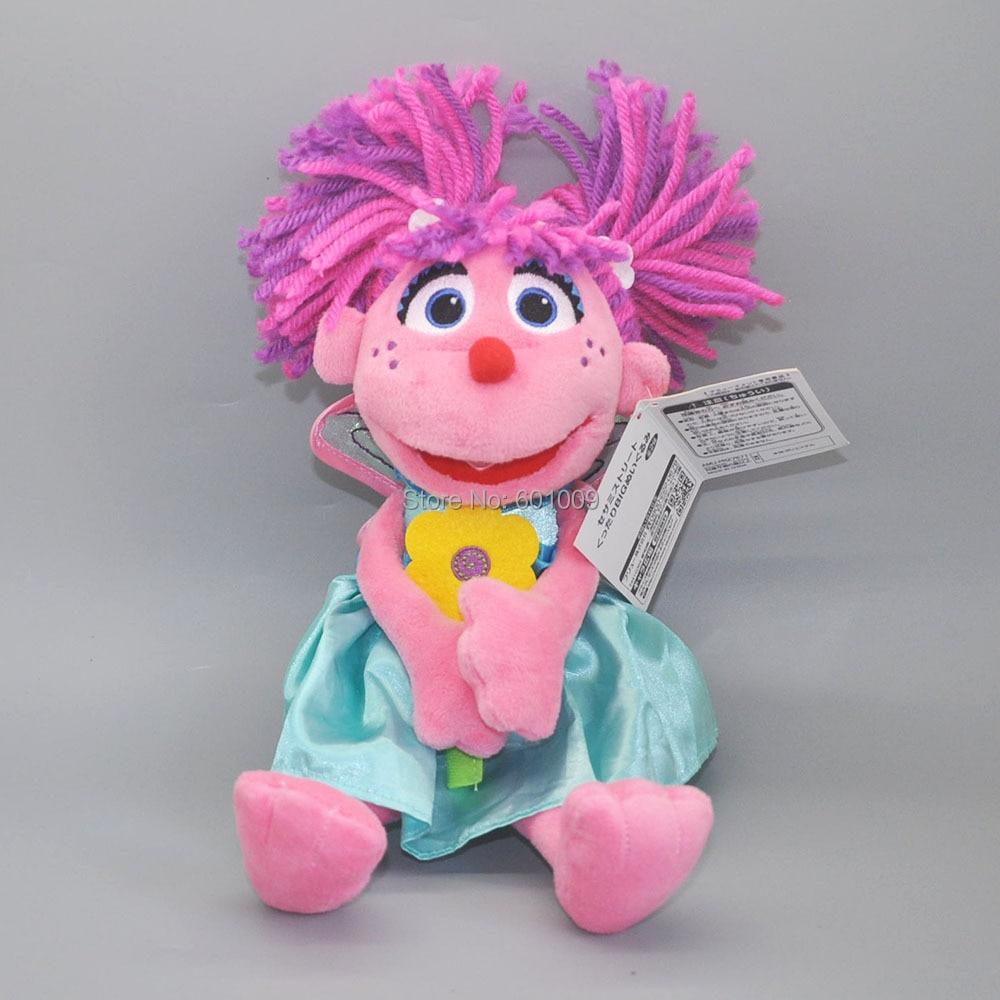 Sesame Street Abby Cadabby Fairy Angel 25CM Plush Doll For Animal Cartoon Dolls Retail