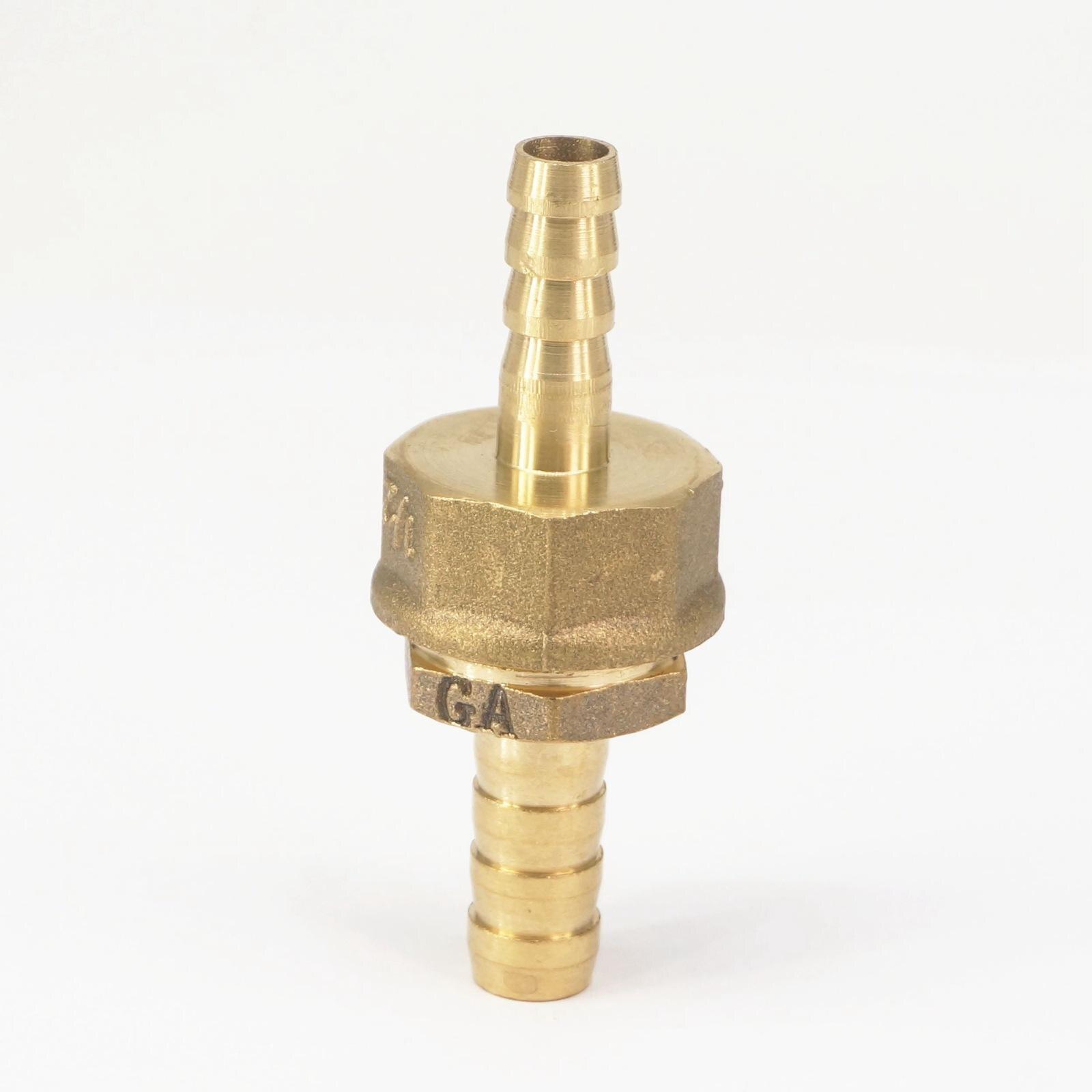 Rohre & Armaturen Schlauch Barb I/d 8mm X Schlauch Barb I/d 10mm Messing Koppler Splicer Anschluss Fitting Für Kraftstoff Gas Wasser Auswahlmaterialien Sanitär