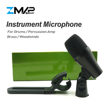 Grade A Professional PGA56 Instrument Microphone PGA Cardioid Mike Mic For Percussion Bass Amp Kick Tom Snare Drums Stage Studio