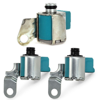 A340 AW4 Trans Solenoid Kit For Jeep Cherokee Truck 3Pcs Shift TCC A340E A340F