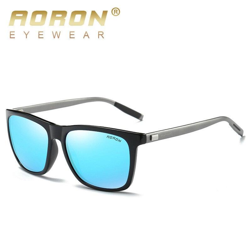 Aoron Mode Polarisierte Aluminium Sonnenbrille Männer Marke Designer Fahren Sonnenbrille Frauen Vintage Zonnebril Mannen Dames Uv400 GroßEs Sortiment