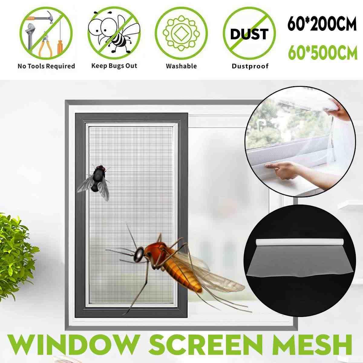 สูงเกรดหนาแน่นในร่มประตูหน้าต่างหน้าจอตาข่าย PM2.5 ฝุ่นแมลง Fly หมอกผ้าม่านยุงสุทธิผ้าม่านผ้าม่านหน้าจอตาข่าย