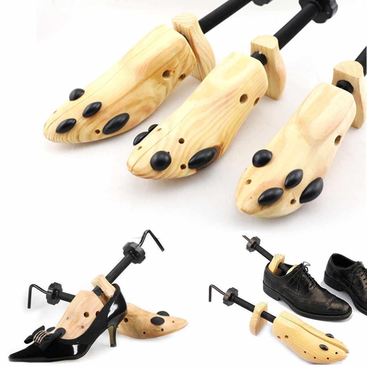 BSAID 1 Parça Ayakkabı Sedye Ayakkabı Ağacı Şekillendirici Rafı, ayarlanabilir Ahşap Pompaları Botları Genişletici Ağaçları Boyutu S/M/L Kadın Ve Erkek