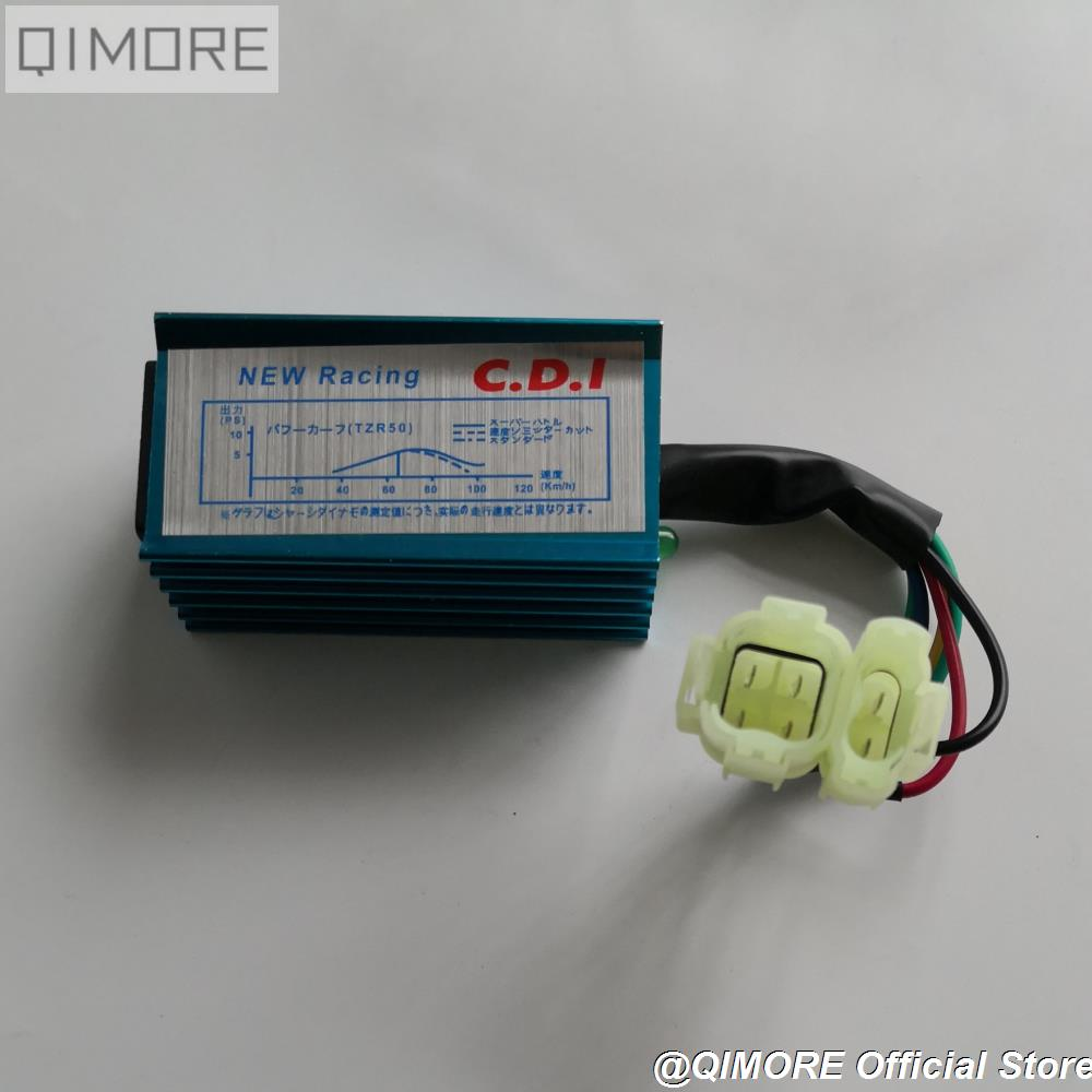 hight resolution of performance racing cdi unit ignitor ac fired no rev limit for scooter gy6