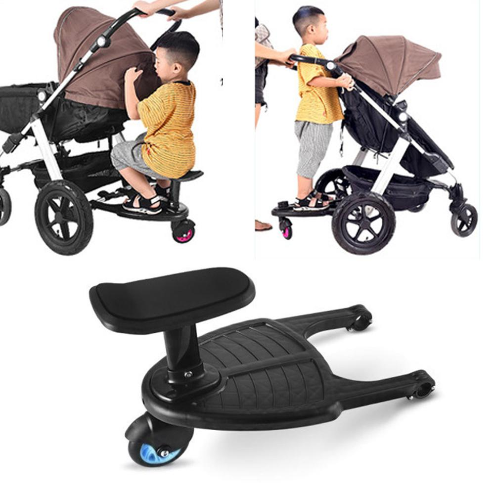 Kidlove Fashion Children Stroller Pedal Adapter Child Auxiliary Trailer Twins Scooter Hitchhiker Kids Standing Plate with