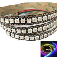 144 Pixels 1m LEDs WS2812B 2812 WS 2812 LED Chip WS2811 IC Digital 5050 SMD RGB LED Strip DC5V