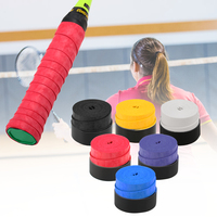 Anti slip Breathable Sweatband Pack of 60 Tennis Racket Grips Anti skid Badminton Racquet Grips Vibration Overgrip Sweatband