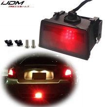 IJDM – lentille fumée F1 Style 12V LED rouge, feu de stop arrière pour Subaru WRX/STi Impreza XV Crosstrek