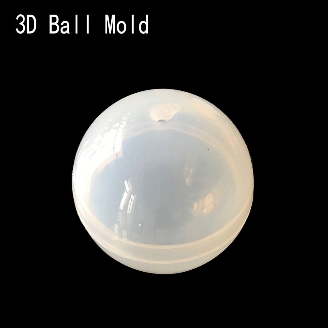Transparent Silicone Ball Shape Mould For Forms Crystal Bracelet Pendant Jewelry Mould 3D Decoration Crafts Mould in Jewelry Tools Equipments from Jewelry Accessories