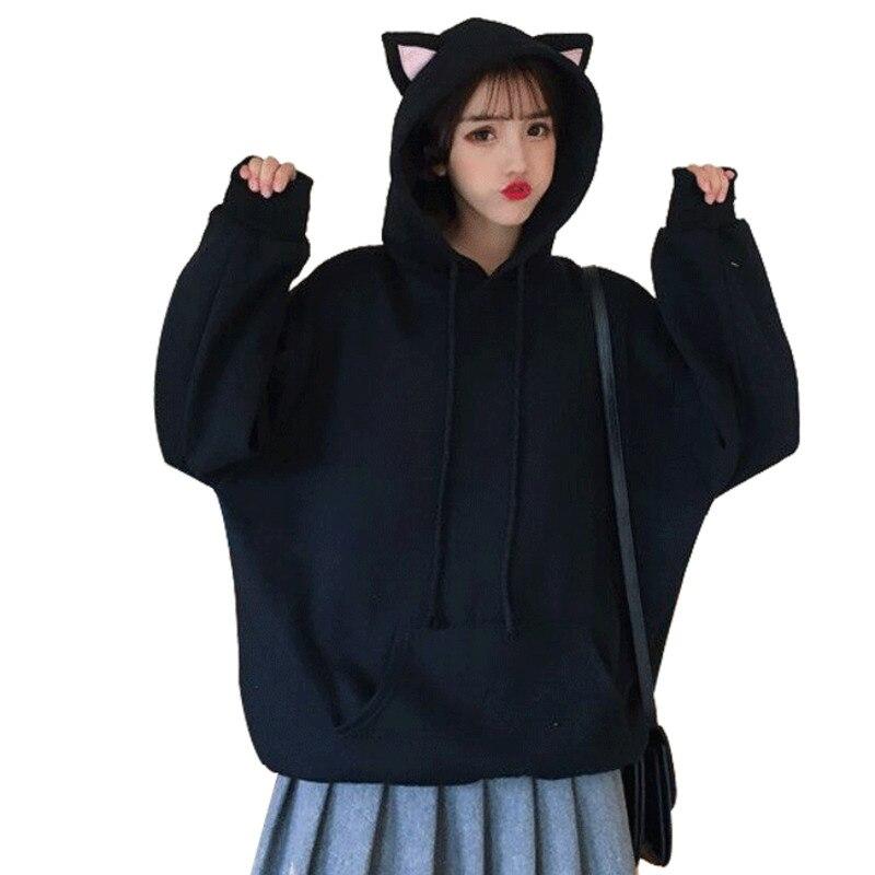 Harajuku Kawaii Girls Hoodies Sweatshirt Women