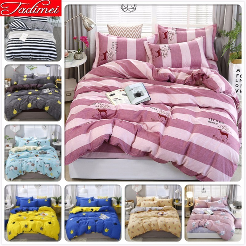Pink Duvet Cover Bedding Set Adult Kids Girl Soft Cotton Bed Linen Single Twin Double Queen King Size Bedspreads 150x200 180x220Pink Duvet Cover Bedding Set Adult Kids Girl Soft Cotton Bed Linen Single Twin Double Queen King Size Bedspreads 150x200 180x220