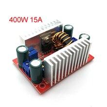 Dc 400 ワット 15Aステップアップブーストコンバータ定電流電源ledドライバ 8.5 50 に 10 60v電圧充電器ステップアップモジュール