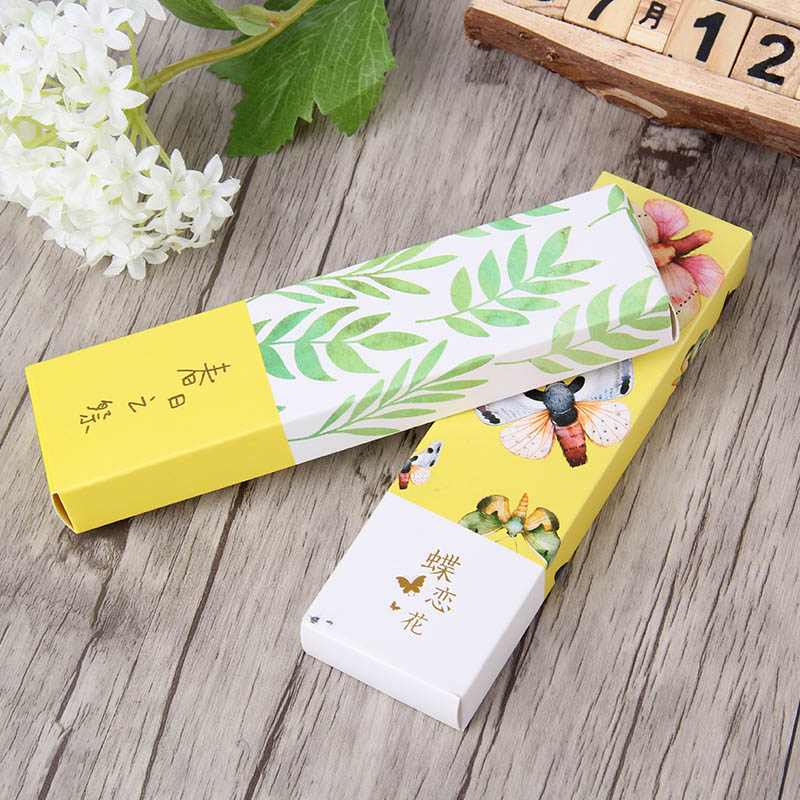 Cute Butterfly Book Marks Novelty Items Vintage Paper Bookmarks For Kids Girl Gifts School Office Supplies 30pcs/pack 1 Bag