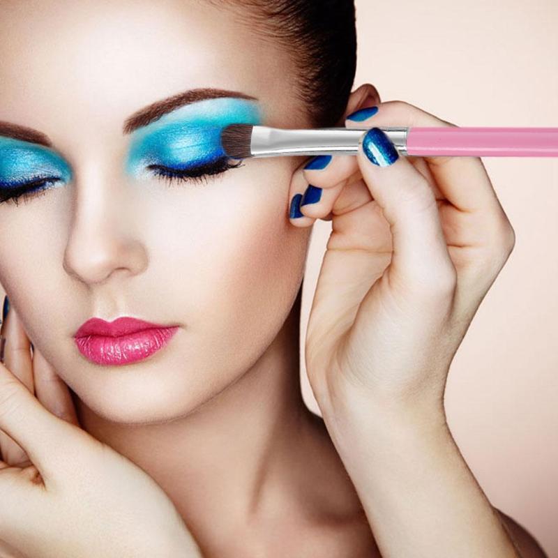 7pcs Makeup Brush Kit Soft Horse Hair Wood Handle Brushes Set For Women Eyeshadow Facial Make Up Beauty Tool Kit