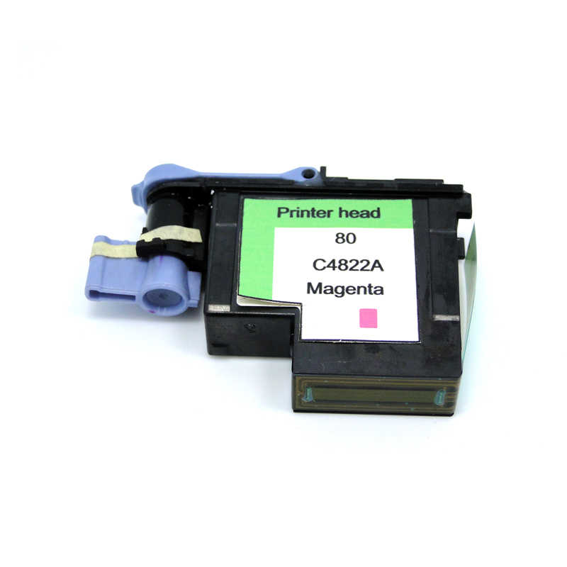 Yotat 1 Pcs Magenta Ulang 80 Printhead C4822A untuk HP80 Designjet 1000 1050C 1055 CM