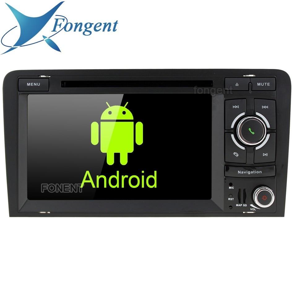 IPS Android Auto Radio Multimédia Lecteur DVD GPS Unité Navigateur pour Audi A3 S3 RS3 2003 2004 2005 2006 2007 2008 2009 2010 22011