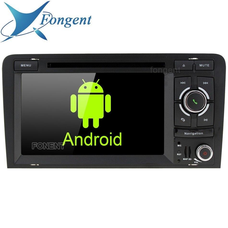 IPS Android Auto Radio Multimedia DVD Player GPS Navigator Unità per Audi A3 S3 RS3 2003 2004 2005 2006 2007 2008 2009 2010 22011