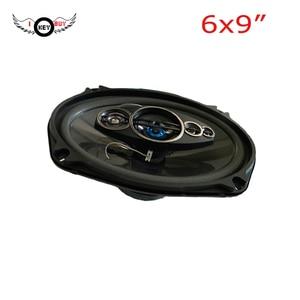4-канальный мощный автомобильный аудио динамик 1200 Вт, 4 Ом 6х9 дюймов, автомобильный коаксиальный акустический динамик, бесплатная доставка