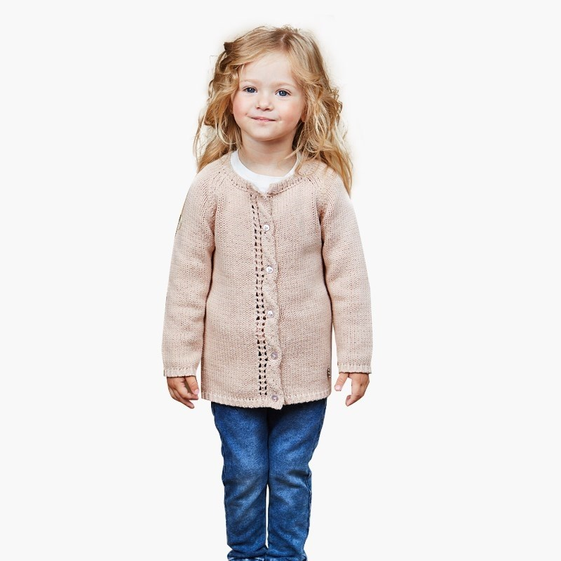 Jackets & Coats Sweet Berry Knitted jacket for girls children clothing kid clothes kamiwa 2018 embroidery fruit girls winter coats and jackets kids outwear down jacket clothes parkas children baby girls clothing