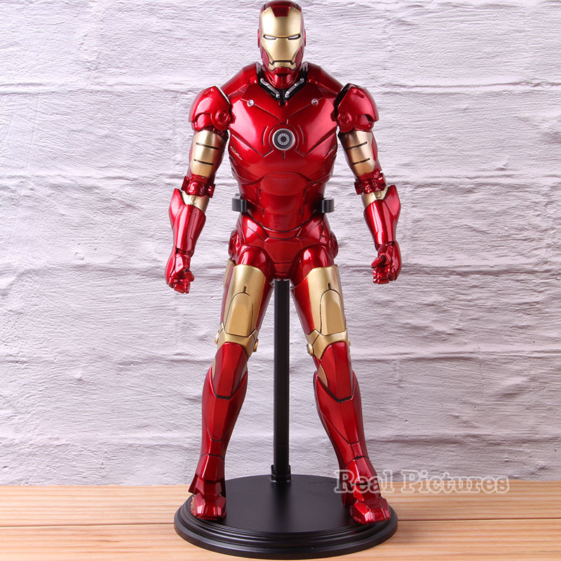 Empire Toys Ironman Action Model Toy 1/6 Scale Iron Man Marvel PVC Collectible Avengers Infinity War Figure 31cmEmpire Toys Ironman Action Model Toy 1/6 Scale Iron Man Marvel PVC Collectible Avengers Infinity War Figure 31cm