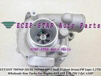 GT1541V 700960 700960-3 700960-4 700960-5 700960-8 700960-11 700960-5012 ثانية توربو لأودي A2 ل العروسة مقعد VW Lupo 1.2L أي AYZ