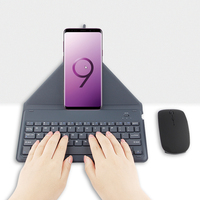 Bluetooth Keyboard For OPPO R9 R9S R11 R11S Plus Mobile phone Wireless keyboard for oppo F5 A73 F3 A77 A33 7 A39 A57 A83 F7 Case